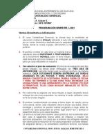 Programación  Contabilidad gerencial 2021-I