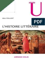 Alain+Vaillant +L 'Histoire+Littéraire +Jericho