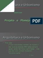 2ª aula arq - Projeto e Planejamento- alunos