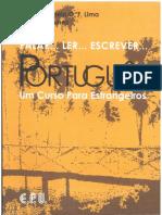 Livro Falar, Ler, Escrever Português1
