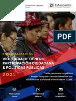 ESP. VIOLENCIA DE GENERO, PARTICIPACIÓN CIUDADANA Y POLÍTICAS PÚBLICAS