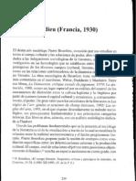 Campo intelectual y proyecto creador. - Pierre Bourdieu