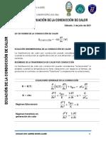 Guia Nro 2 Ind - 536 Inv 2021 Ecuación de La Conducción de Calor