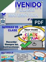 14 CLASE MATEMATICA DIVISION Y RELACION CON LA MULTIPLICACION