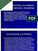 economia relacion con otras disciplinas