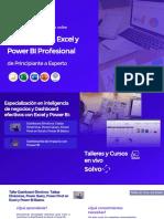 Brochure Dashboards en Excel y Power BI