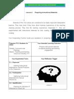 LESSON 2- PREPARING INSTRUCTIONAL MATERIALS