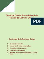 Sem 07_Teoria de Costos-Propiedades de La Funcion de Costos y Otros