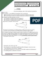 Ddevoir de Synthese n 3 3 Sciences Exp