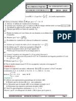 Dddevoir Controle n 3.3sciences Copie f