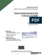 Evaluacion Psicologica Discapacidad Auditiva