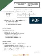 Devoir de Synthèse N°2 - Math - 2ème Economie & Gestion (2010-2011) Mr Medhioub Issam