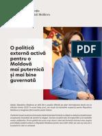 Prioritățile politicii externe pentru perioada 2021-2022