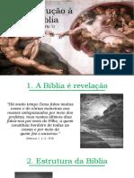Introdução à Bíblia (Parte 1)