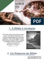Introdução à Bíblia (Parte 2)