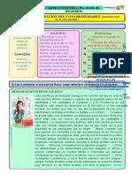 FICHA DE TRABAJO SEMANA N°04 - ARTE-5° (CÉSAR)