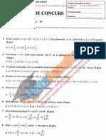 ListaFacultati.ro Subiecte Admitere Politehnica Stiinte Aplicate Bucuresti Geometrie 2010