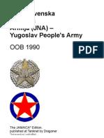 JNA - Jugoslovenska Narodna Armija