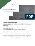 Formulario Successioni e Serie di funzioni