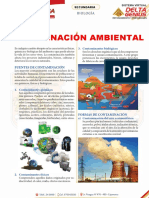 Contaminación Ambiental Para Primero de Secundaria