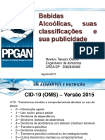 Bebidas Alcoolicas classificacao e publicidade