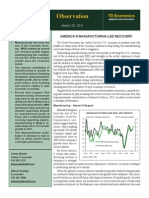 America's Manufacturing-Led Recovery-TD