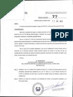 Resolucion 77.2021