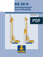 BAUER_BG 28 H_Rotary Drilling Rig