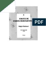 Base de Dados Demográficos
