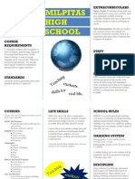 sociology educational institution brochure