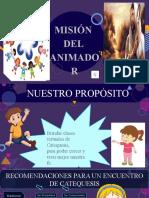 MISIÓN DEL ANIMADOR  - CATEQUESIS EN FAMILIA