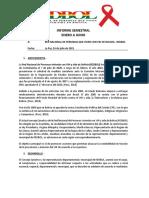 Informe Semestral REDBOL enero a junio 2021