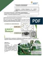 Biodiversidad Origen