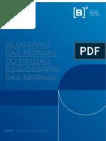 Glossário das Normas do Balcão B3 - Com Marca