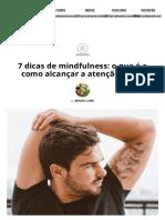 7 dicas de mindfulness_ o que é e como alcançar a atenção plena