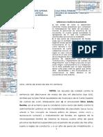 R.N. 1453-2019 - Junin - Malversacion de fondos - Peculado - No se acredito la afectacion de servicio en el delito de malversacion de fondos