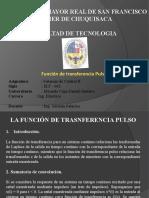 control II - La función de transferencia pulso