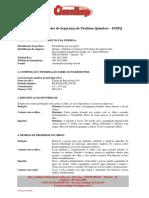 FISPQ - DESINFETANTE LIQUIDO CLASSLIMP