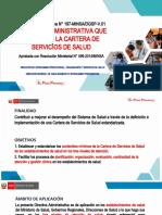 CARTERA DE SERVICIOS DE SALUD RM N°099-2014 25.11.20