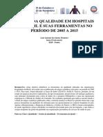 Gestão da Qualidade em Hospitais no Brasil