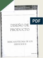 PDF APUNTES MERCADOTECNIA DE LOS SERVICIOS 1ER PARTE