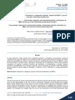 Geoeconomia, empreiteiras brasileiras e a integração regional