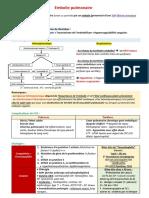 Embolie Pulmonaire (POUR UMC)