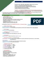 Thérapeutique 5 - Syndrome coronarien (FICHE)