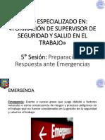 05 - Pre. y Res. ante Emergencias