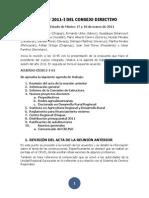Acta CD-DCRU, 17-18  mzo 2011