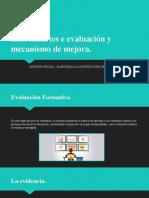 Instrumentos e evaluación y mecanismo de mejora