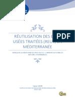 Ps Eau Reutilisation Des Eaux Usees Traitees en Mediterranee 2020