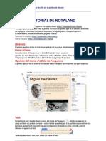 Tutorial Notaland IdeesTIC