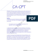 CA CPT INFORMATION BROCHURE